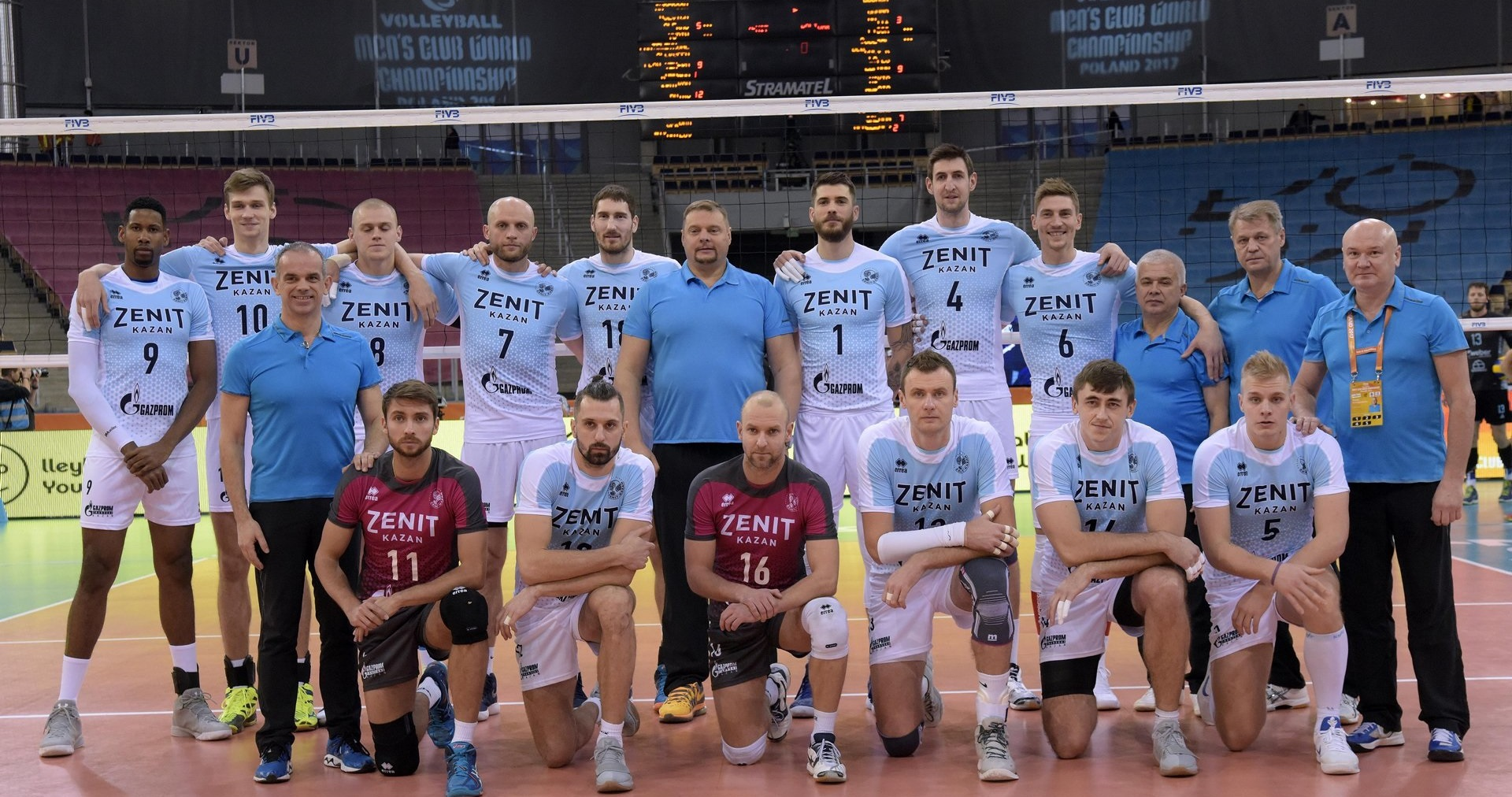 Zenit Kazan Personal Bolivar 3 0 Polish Volleyball Federation