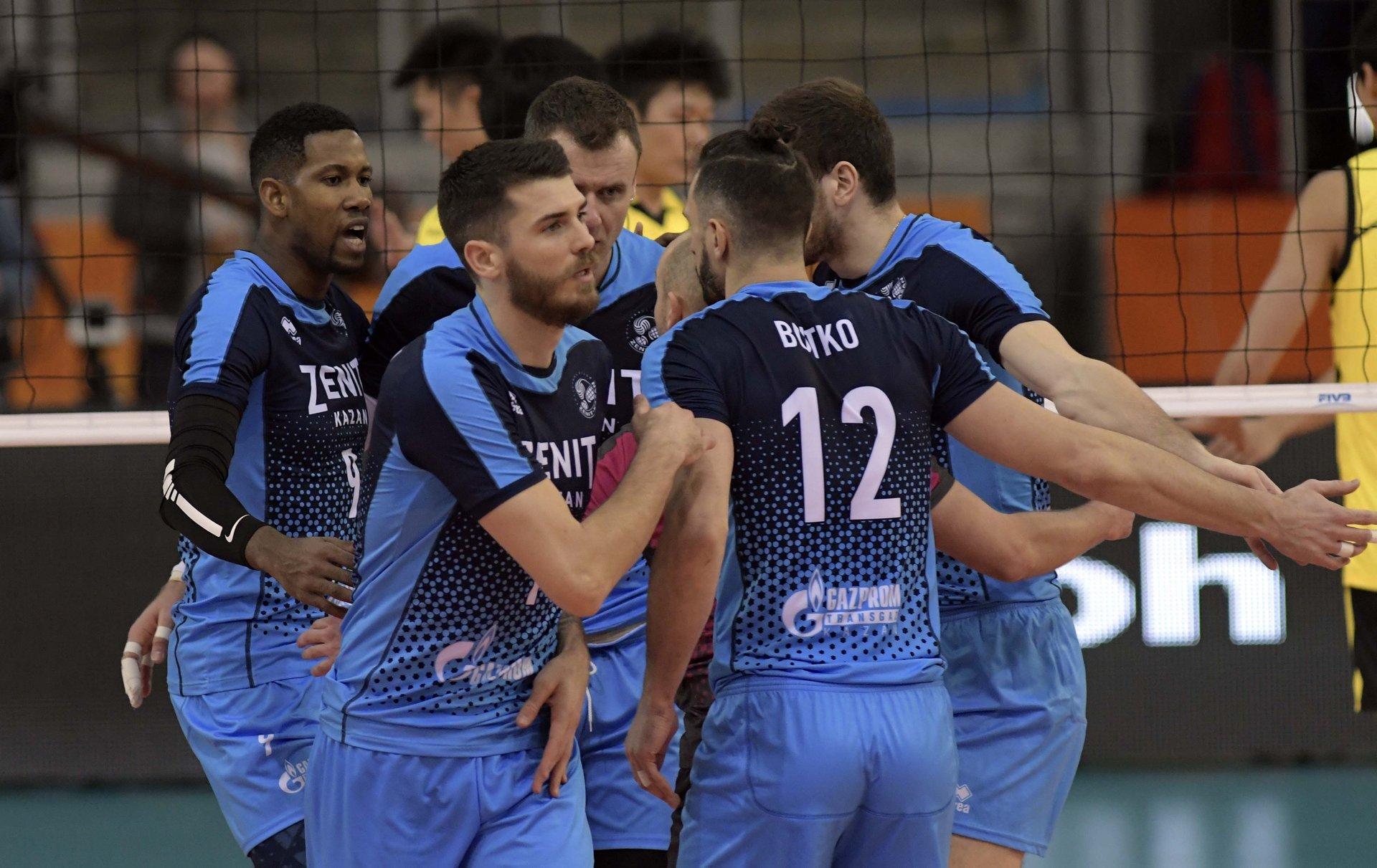 Zenit Kazan Shanghai Volleyball Club 3 0 Polish Volleyball Federation