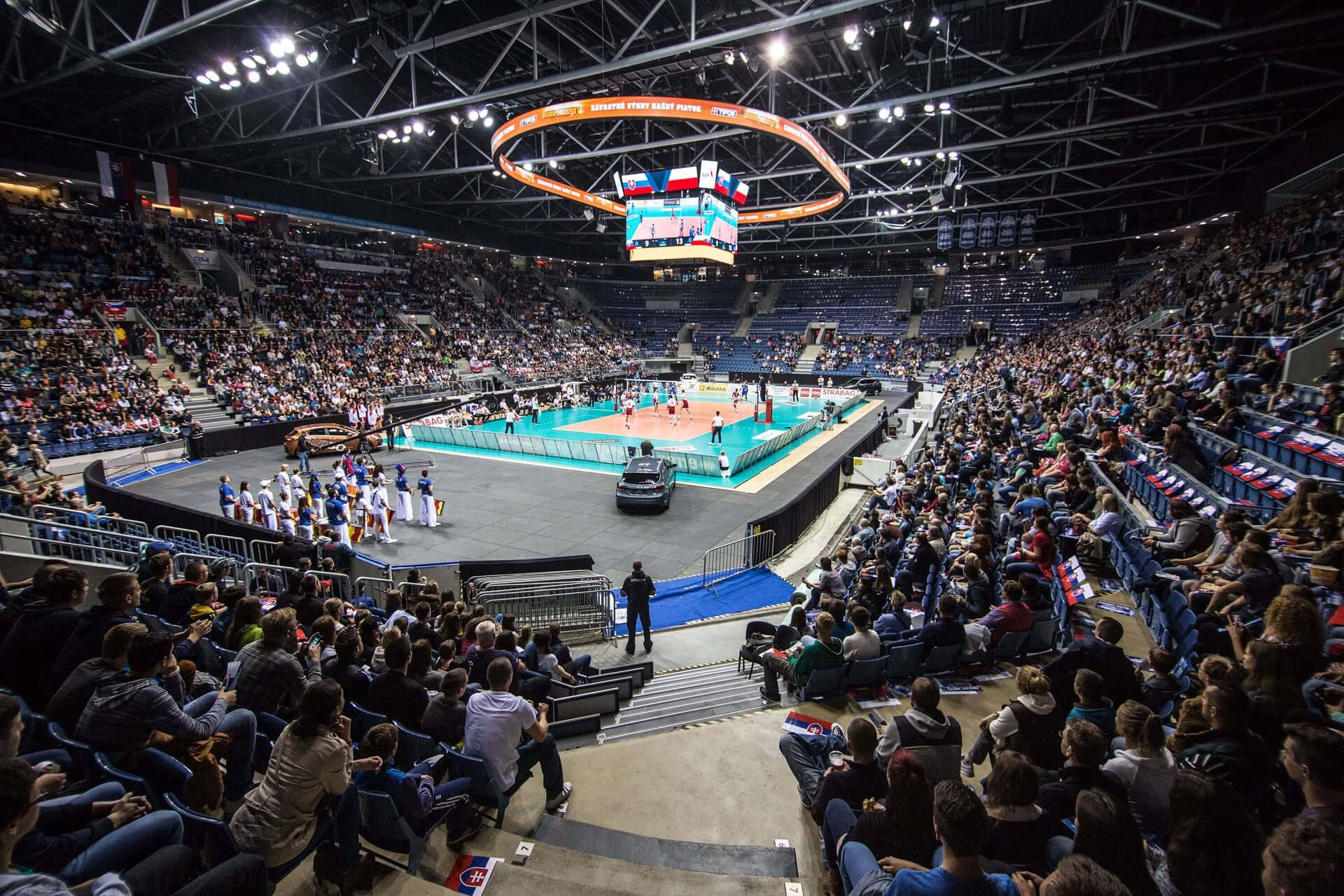Slovakia step in for Czech Republic as 2019 women's EuroVolley co-hosts