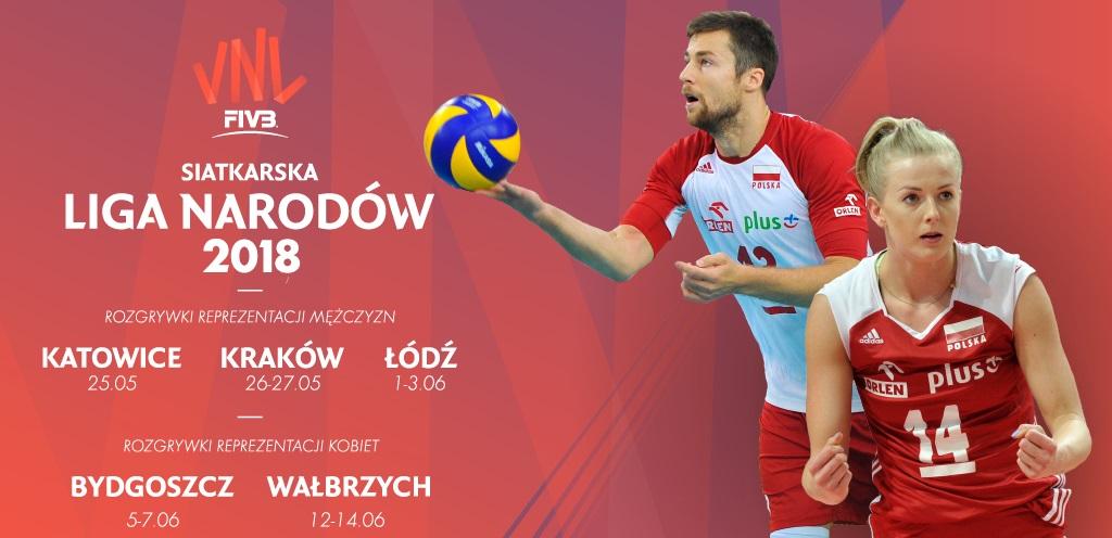 Harmonogram Siatkarskiej Ligi Narodow W Polsce