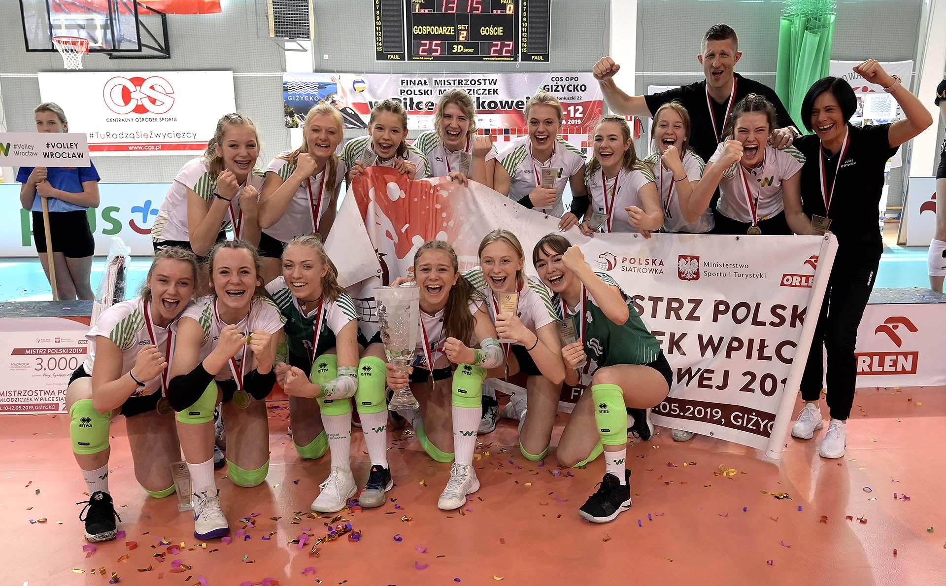 MP Młodziczek – Giżycko 2019: #Volley Wroclaw ze złotem