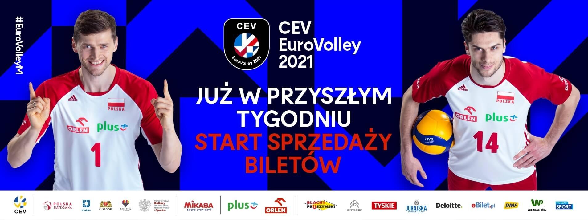 Start sprzedaży biletów na #EuroVolleyM