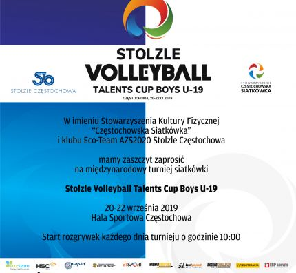 2. edycja Stolzle Volleyball Talents Cup