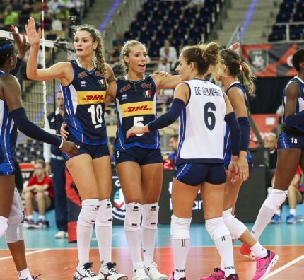 Italy, the Netherlands and Germany keep immaculate record at #EuroVolleyW
