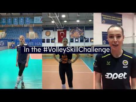 #VolleySkillChallenge